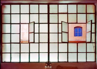 Cerere, vetrata interna