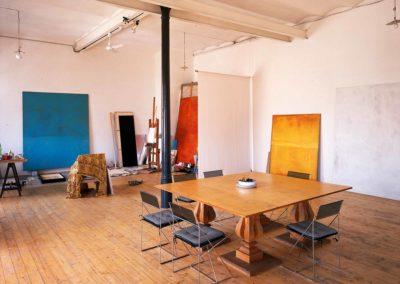 Abitazione studio di Oscar Turco