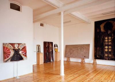 Studio di Bruno Ceccobelli