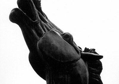Cavallo di Francesco Messina Rai, viale Mazzini