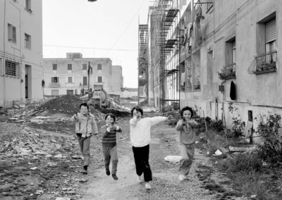 Latina, quartiere Nicolosi - 1982