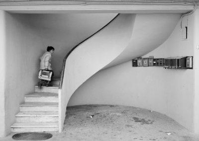 Latina, quartiere Niccolosi - 1982