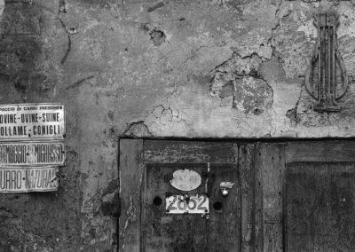 Sorano, segni - 1979