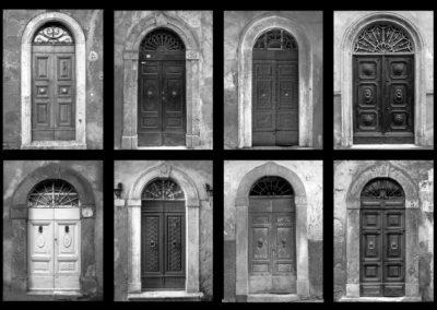 Sorano, portoni - 1979