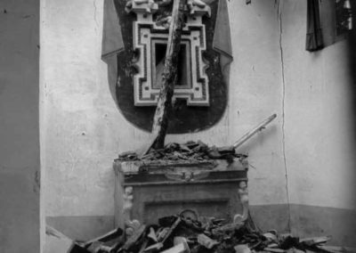 Sorano, crolli - 1982