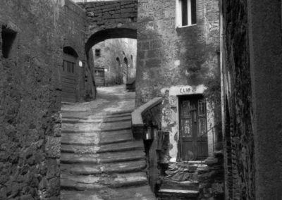 Sorano, crolli - 1979