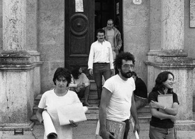 Sorano, Corso di Urbanistica - 1979